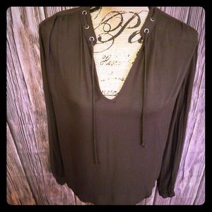 Cute Cloth and Stone blouse sz M like new